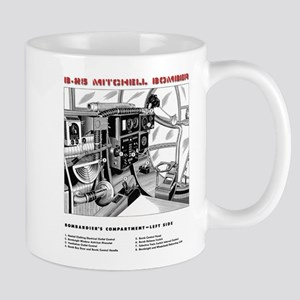 B-25 Bombardier's Compartment Mugs