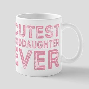 Cutest Goddaughter Mugs