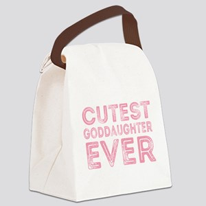 Cutest Goddaughter Canvas Lunch Bag