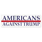 Americans Against Trump Bumper Sticker