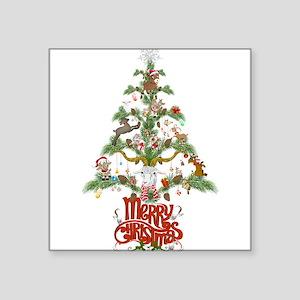 GOAT LOVERS CHRISTMAS TREE Sticker