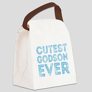 Cutest Godson Ever Canvas Lunch Bag
