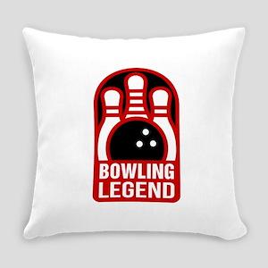 Bowling Legend Everyday Pillow