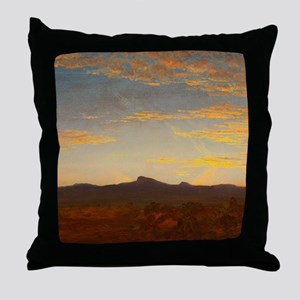 Catskill Creek by Thomas Cole Throw Pillow