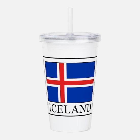 Iceland Acrylic Double-wall Tumbler