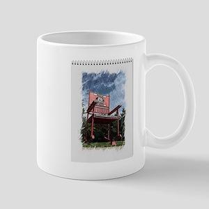 Red Rocker Mug