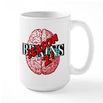 BrainsS2 Logo Mugs