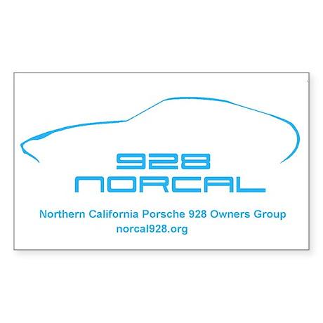 Norcal928.org Rectangle Sticker