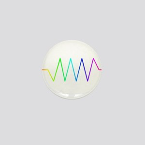 Rainbow Resistance Mini Button