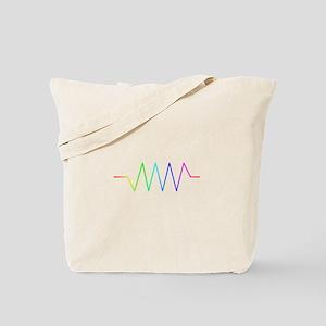Rainbow Resistance Tote Bag
