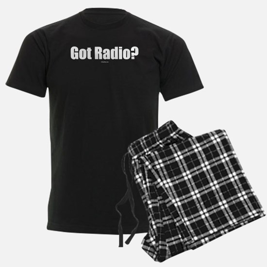 got_radio_on_black Pajamas