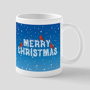 Cardinals Christmas Mug
