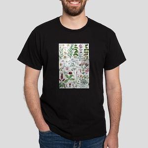 Botanical Illustrations - Larousse Plants T-Shirt