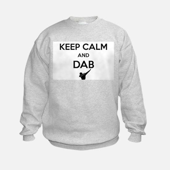 Keep Calm and Dabs Sweatshirt