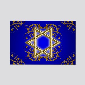 Gold Star of David Magnets