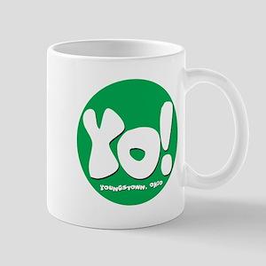 YO! Green Mug