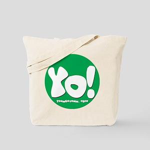 YO! Green Tote Bag