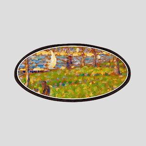 Study for La Grande Jatte by Georges Seurat Patch