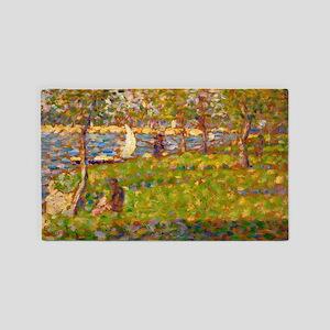 Study for La Grande Jatte by Georges Seurat Area R