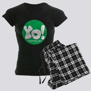 YO! Green Women's Dark Pajamas