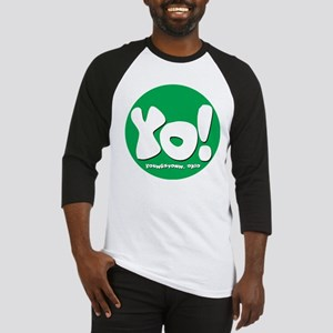 YO! Green Baseball Jersey