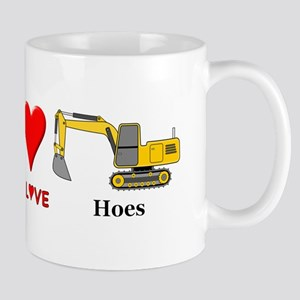 Peace Love Hoes Mug