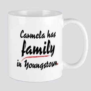 Carmela has family in Youngstown Mug
