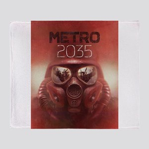 Metro 2035 Main Throw Blanket