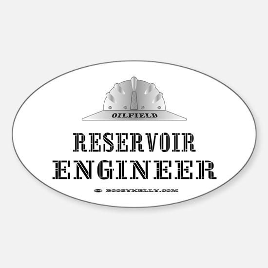 Reservoir Engineer Oval Decal