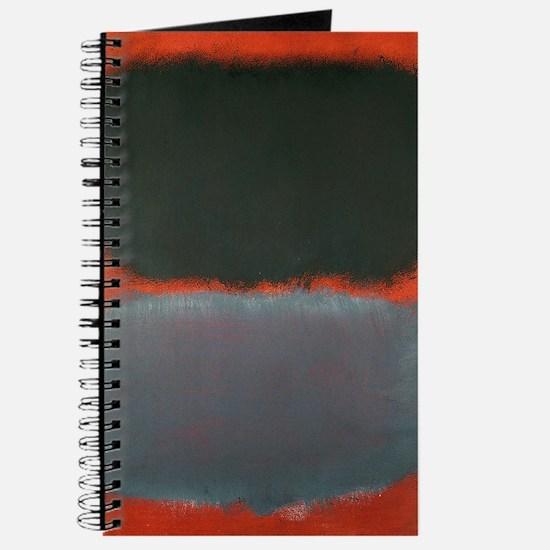 ROTHKO SHADES OF GREY AND ORANGE Journal