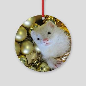 Kazue I Round Ornament