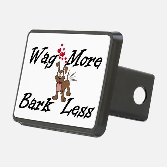 Wag More Bark Less Hitch Cover