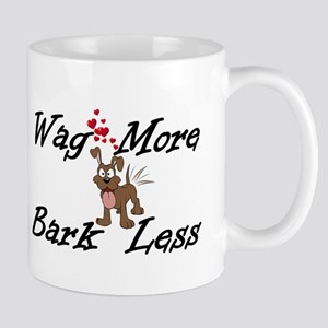 Wag More Bark Less Mugs