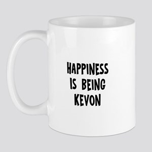 Happiness is being Kevon Mug