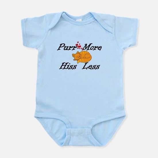 Purr More Hiss Less Infant Bodysuit