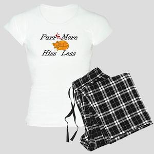 Purr More Hiss Less Women's Light Pajamas