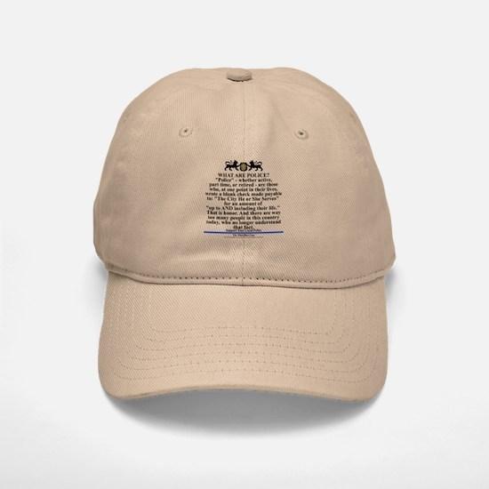 Support your local police Baseball Baseball Cap