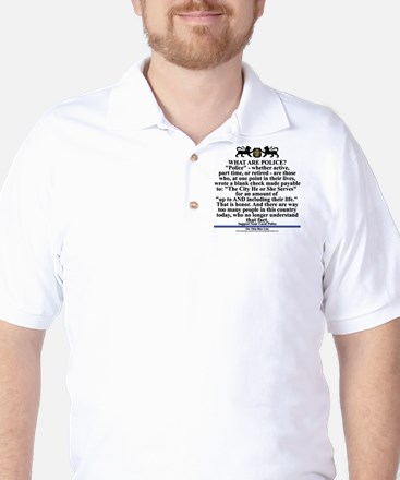 Support your local police Golf Shirt