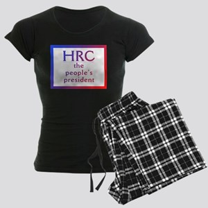 HRC --The People's President Pajamas