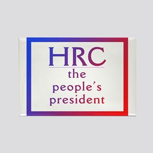 HRC --The People's President Magnets