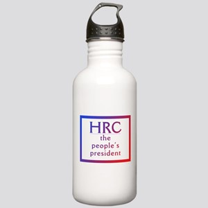 HRC --The People's President Water Bottle