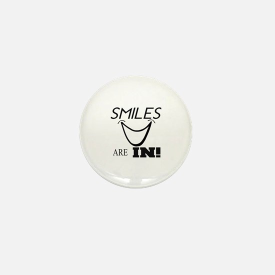 Cute Smile Mini Button