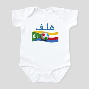 TEAM COMOROS ARABIC GOAL Infant Bodysuit