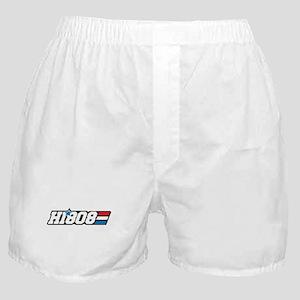 Hawaii 808 Aloha Patriot Boxer Shorts