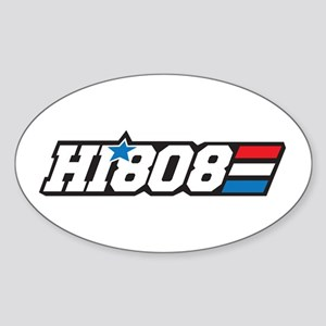 Hawaii 808 Aloha Patriot Sticker