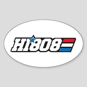 Hawaii 808 Aloha Patriot Sticker