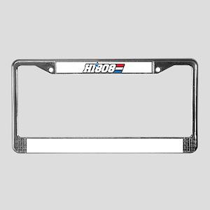 Hawaii 808 Aloha Patriot License Plate Frame