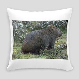3-wombat Everyday Pillow