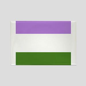 Genderqueer Pride Flag Magnets