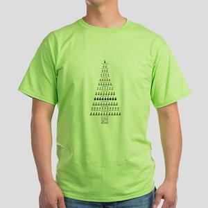 Jane Austen Twelve Days P&P Christmas T-Shirt